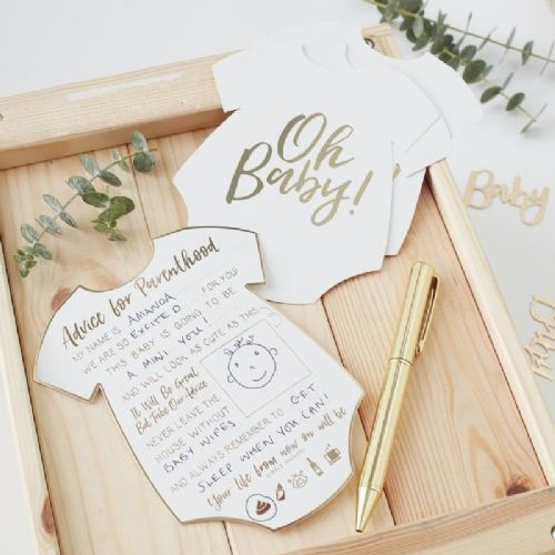 Oh Baby Advice For The Parents Cards (10pk)